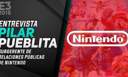 Entrevista a Pilar Pueblita de Nintendo – E3 2018