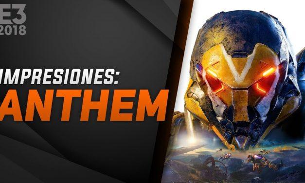 Impresiones Anthem – E3 2018