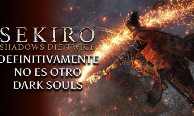 Sekiro: Shadows Die Twice – Definitivamente no es otro Dark Souls