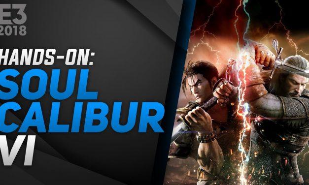 Hands-On Soulcalibur VI – E3 2018