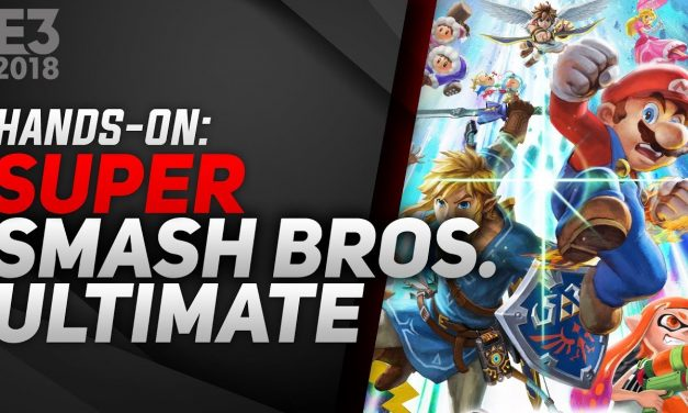 Hands-On Super Smash Bros. Ultimate – E3 2018