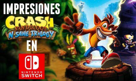 Impresiones – Crash Bandicoot N. Sane Trilogy en Switch