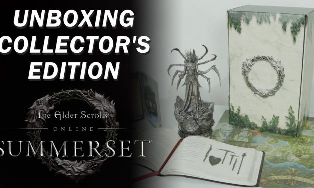 Unboxing – The Elder Scrolls Online: Summerset Collector's Edition