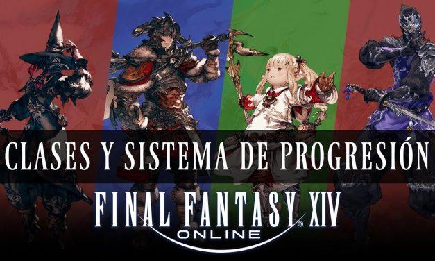 Clases y Sistema de Progresión en Final Fantasy XIV