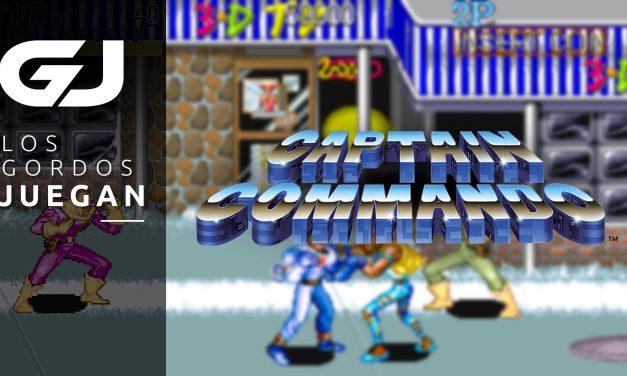 Los Gordos Juegan: Captain Commando