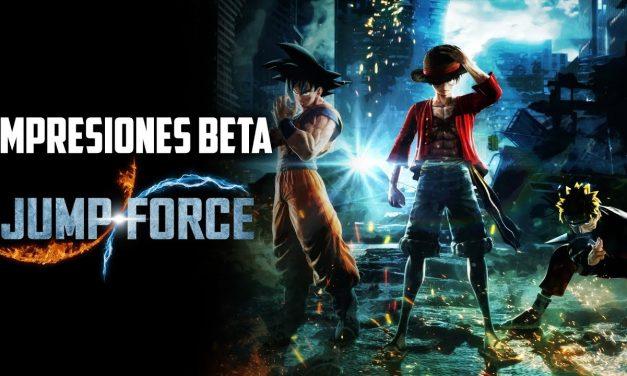 Impresiones Beta Jump Force