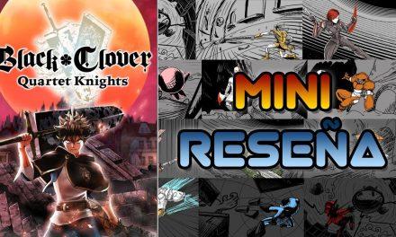 Mini-Reseña Black Clover: Quartet Knights