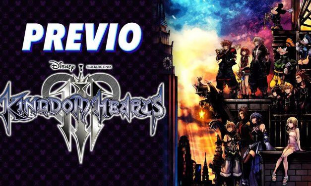 Previo Kingdom Hearts III