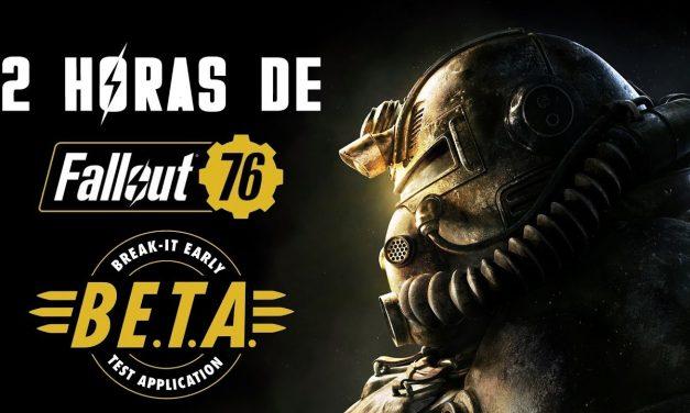 2 Horas del B.E.T.A. de Fallout 76