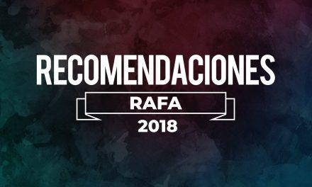 Los Juegos Preferidos de Rafa de 2018