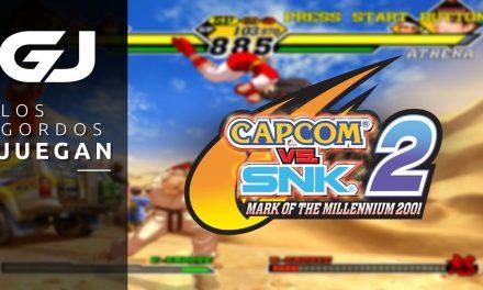 Los Gordos Juegan Capcom vs. SNK 2: Mark of the Millennium 2001