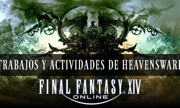 Final Fantasy XIV – Nuevos Trabajos y Actividades de Heavensward