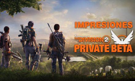 Impresiones Beta Privado de The Division 2