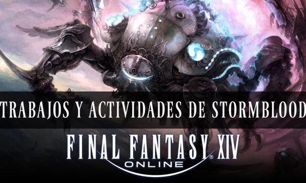 Final Fantasy XIV – Nuevos Trabajos y Actividades de Stormblood
