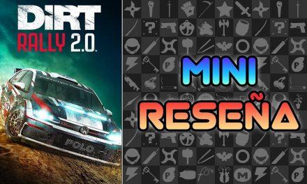 Mini-Reseña DiRT Rally 2.0