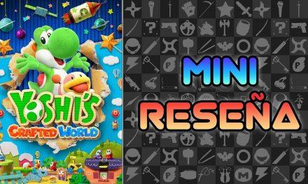 Mini Reseña Yoshi's Crafted World