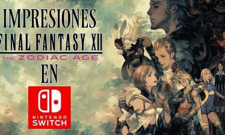 Impresiones Final Fantasy XII: The Zodiac Age para Nintendo Switch