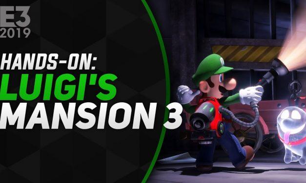 Hands-On Luigi's Mansion 3 – E3 2019