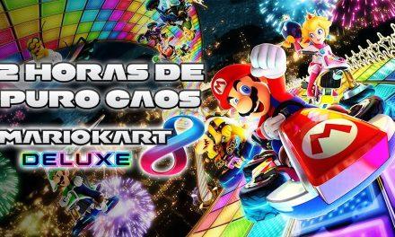 2 Horas de Puro Caos en Mario Kart 8 Deluxe