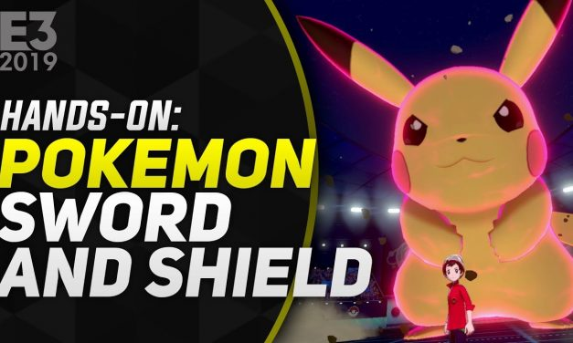 Hands-On Pokémon Sword and Shield – E3 2019