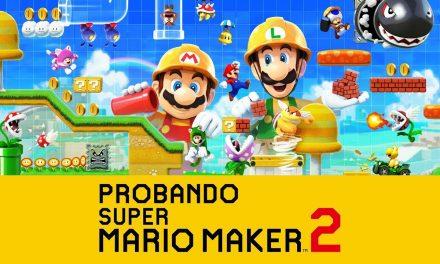 Casul-Stream – Probando Super Mario Maker 2