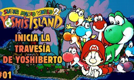 Serie Yoshi's Island #1: Inicia la travesía de Yoshiberto