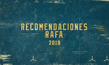 Los Juegos Preferidos de Rafa del 2019