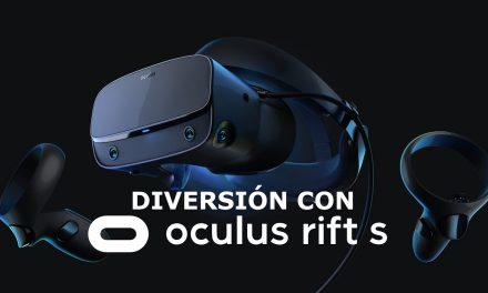 Diversión con Oculus Rift S