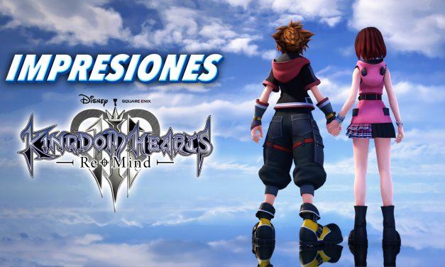Impresiones Kingdom Hearts III Re:Mind