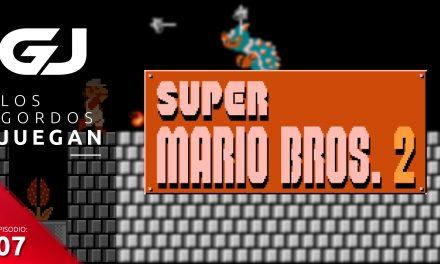 Los Gordos Juegan: Super Mario Bros. 2 – Parte 7