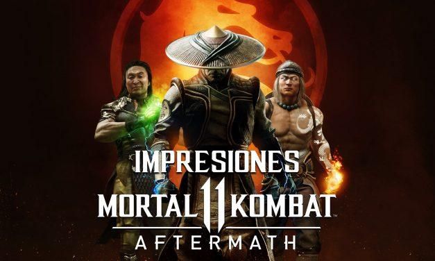 Impresiones Mortal Kombat 11 Aftermath