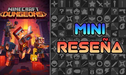 Mini Reseña Minecraft Dungeons