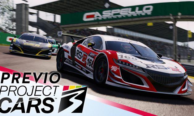 Previo Project CARS 3