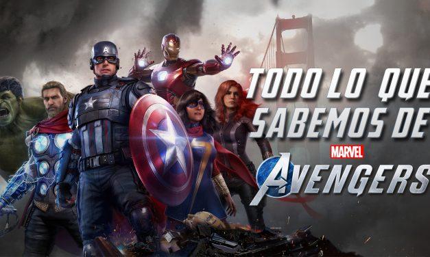 Previo: Todo lo que sabemos de Marvel's Avengers
