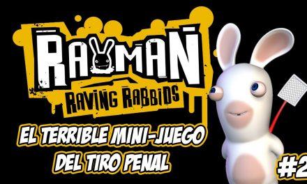 Casul-Stream Rayman Raving Rabbids – Parte 02: El terrible mini-juego del tiro penal