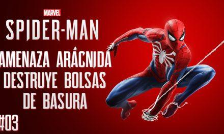 Serie Spider-Man – Parte 3 –  Amenaza arácnida destruye bolsas de basura