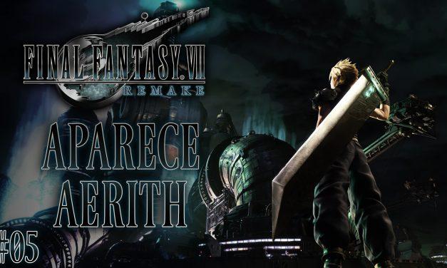Final Fantasy VII Remake Parte 05: Aparece Aerith