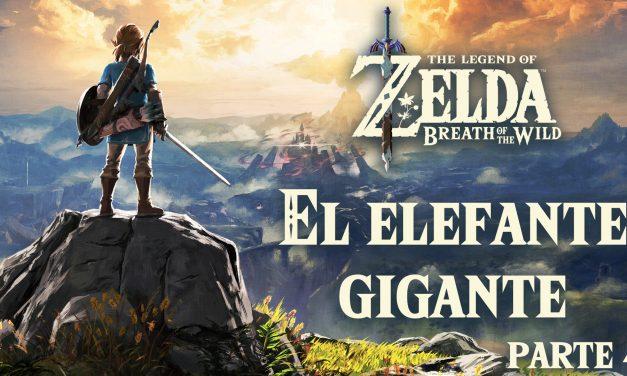 Serie The Legend of Zelda: Breath of the Wild #4 – El Elefante Gigante