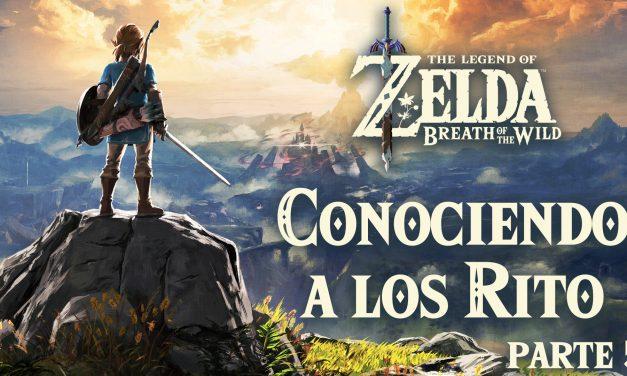 Serie The Legend of Zelda: Breath of the Wild #5 – Conociendo a los Rito