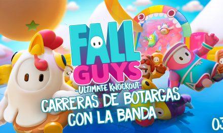 Casul-stream Fall Guys 3 – Carreras de botargas con la banda