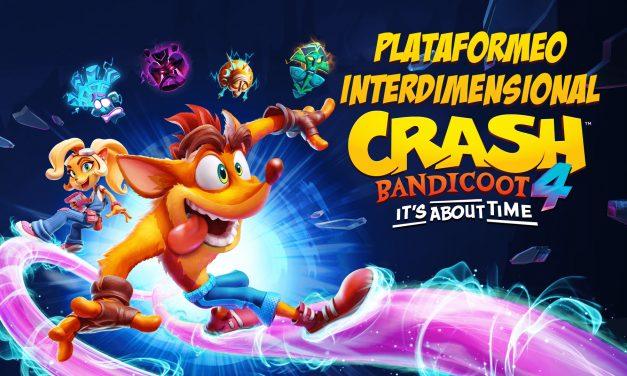 Crash Bandicoot 4: Plataformeo Interdimensional