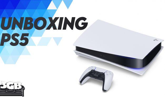 Unboxing de PlayStation 5