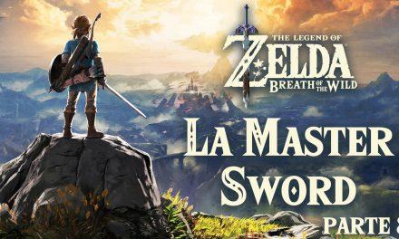 Serie The Legend of Zelda: Breath of the Wild #8 –  La Master Sword