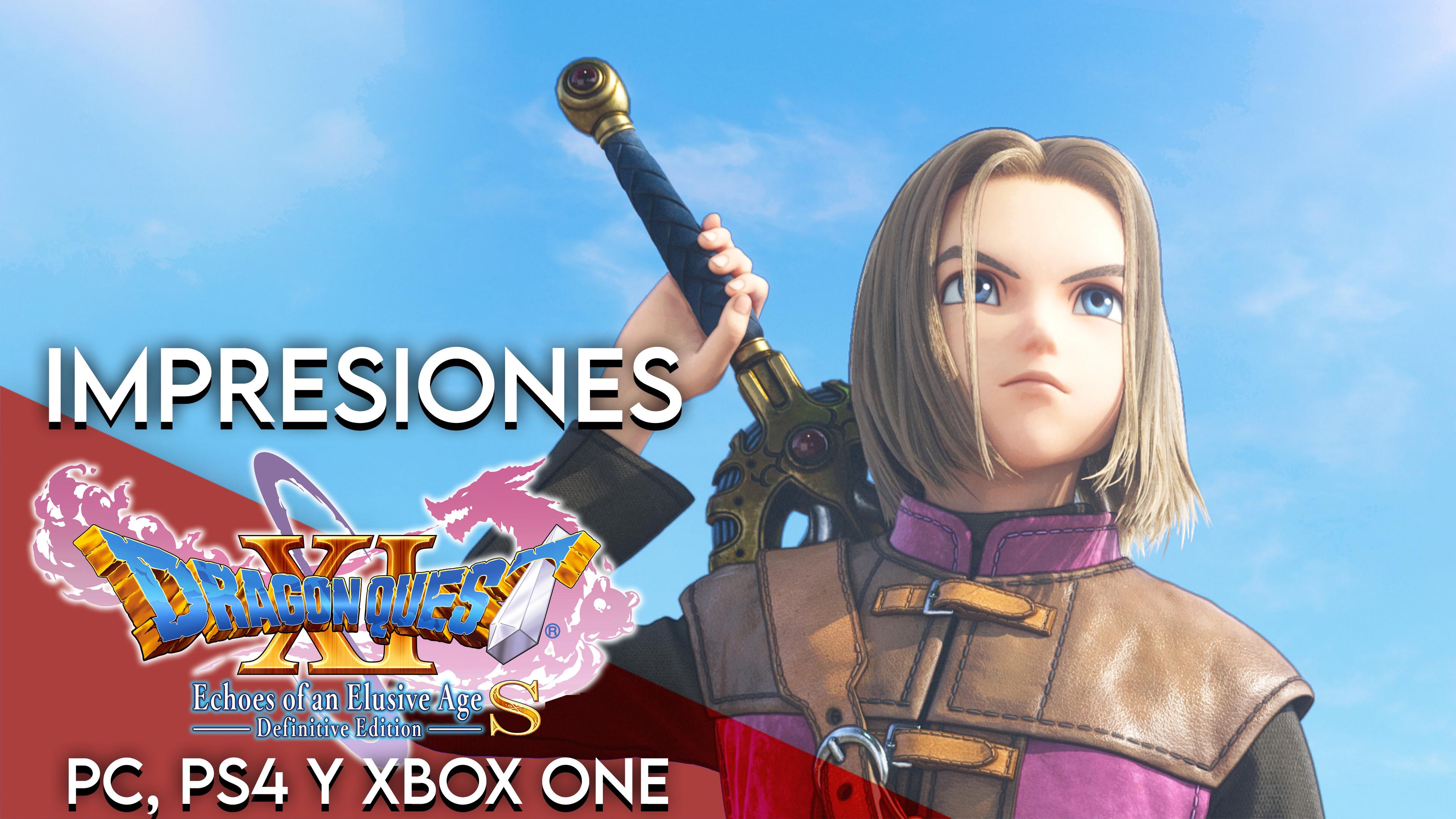 Impresiones Dragon Quest XI S: Echoes of an Elusive Age – DE en PS4, Xbox One y PC