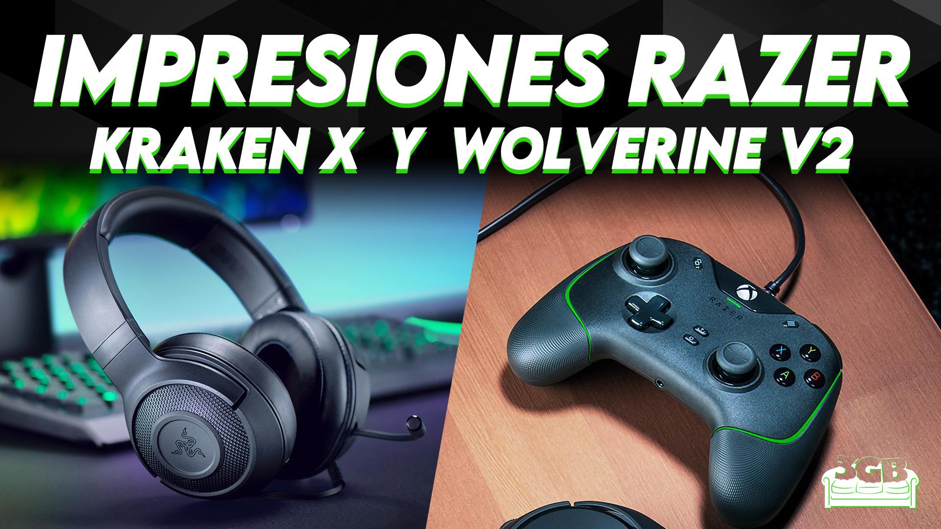 Impresiones Razer Kraken X y Razer Wolverine V2