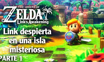 Serie The Legend of Zelda  Link's Awakening #01 – Link despierta en una isla misteriosa