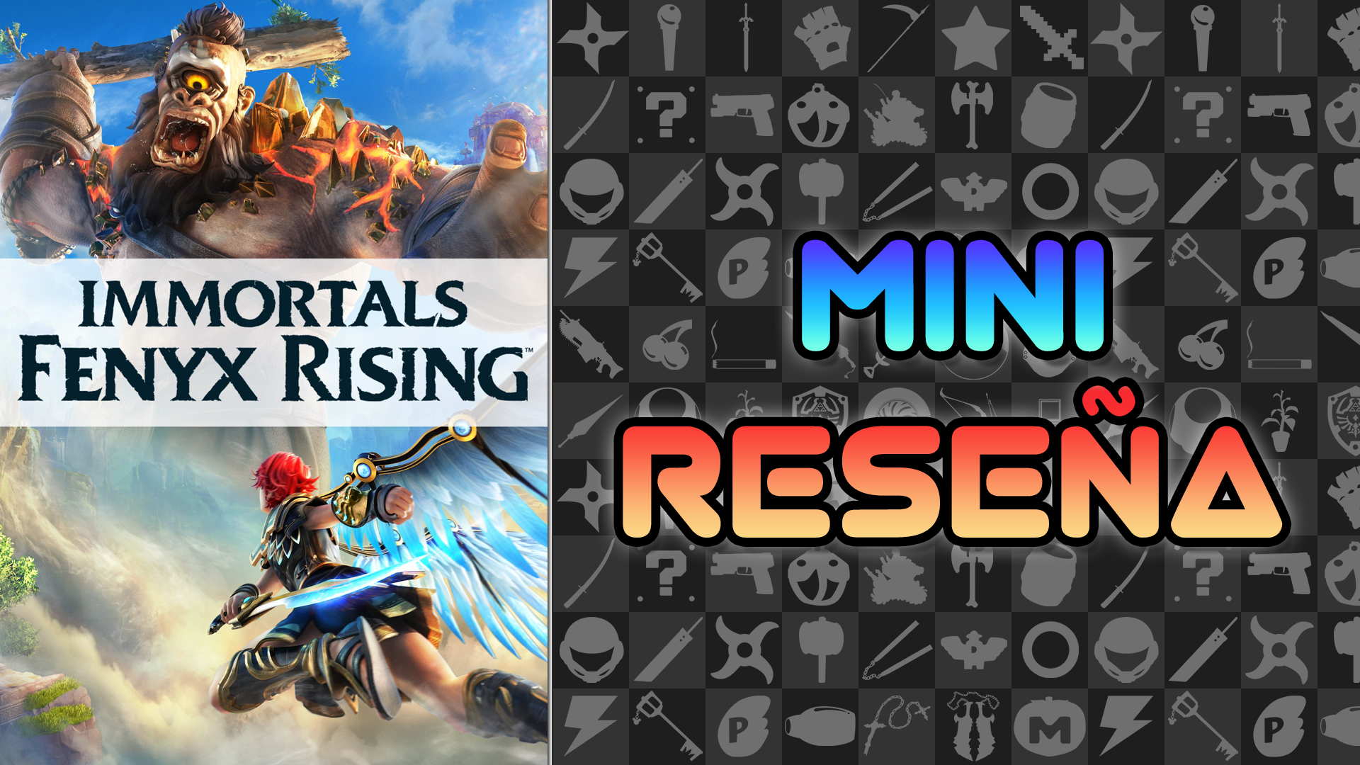 Mini Reseña Immortals Fenyx Rising