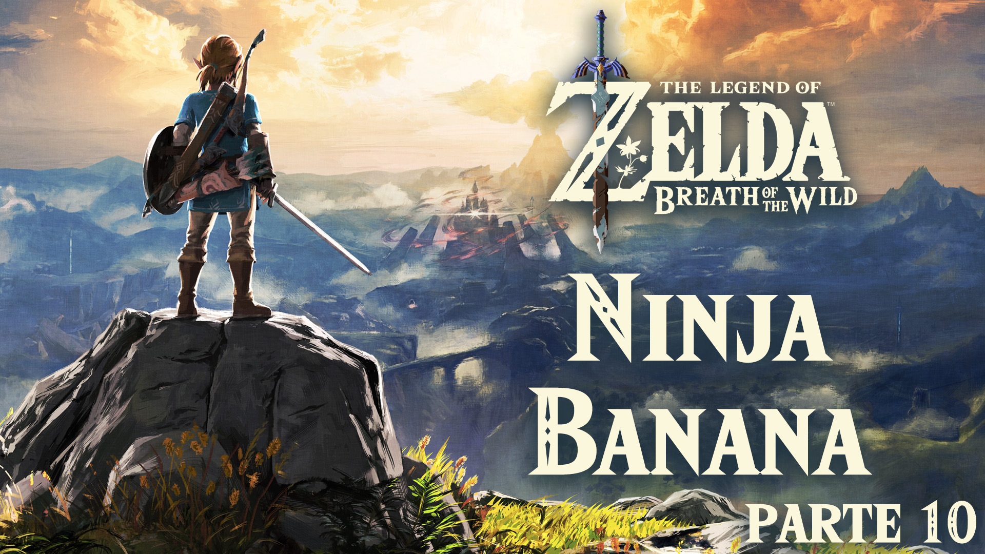 Serie The Legend of Zelda: Breath of the Wild #10 –  Ninja Banana