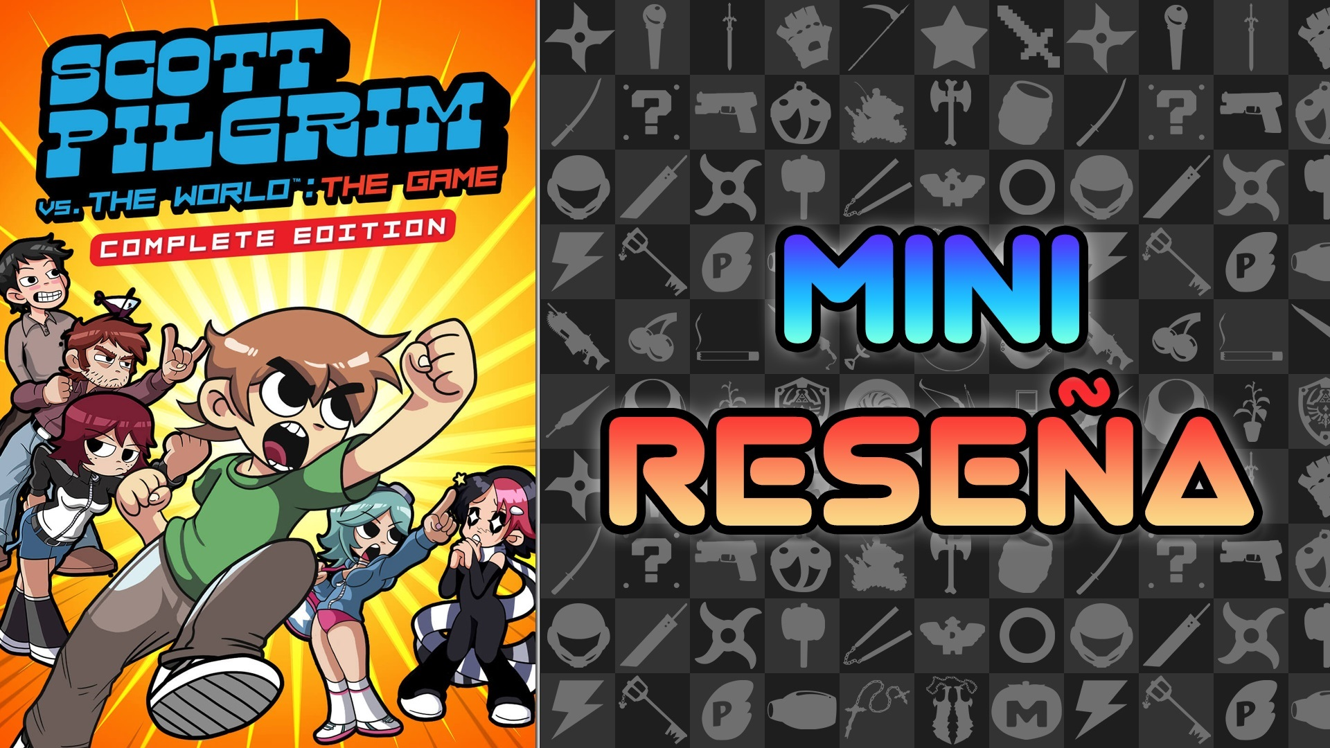 Mini Reseña Scott Pilgrim Vs. The World: The Game Complete Edition