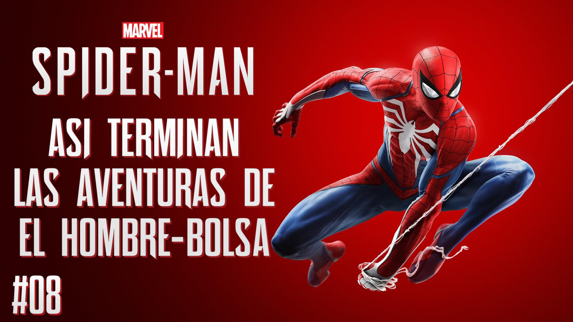 Serie Spider-Man # 7 – Así terminan las Aventuras del Hombre Bolsa